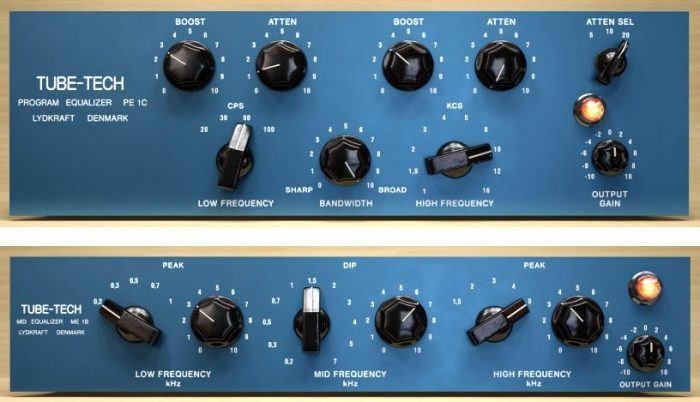 UAD Tube Tech EQ Collection