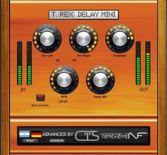 Max Project T. Rex Delay Mini