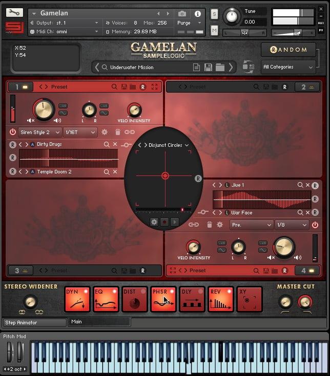 Sample Logic Gamelan