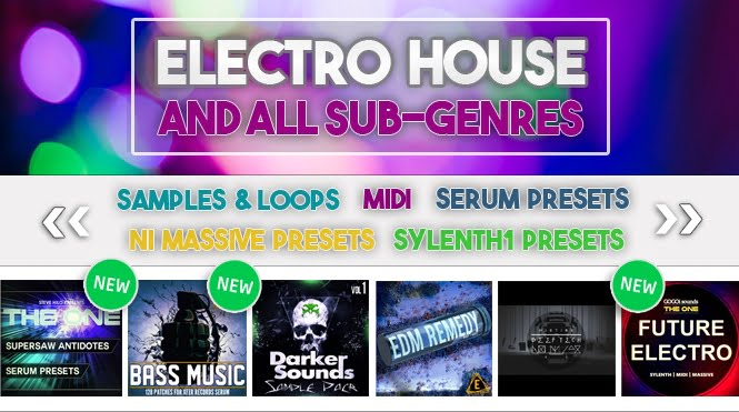 123Creative October deals for House producers