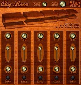 Alan ViSTa Clog Boxes