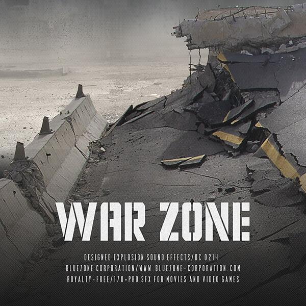 Bluezone War Zone - Designed Explosion Sound Effects
