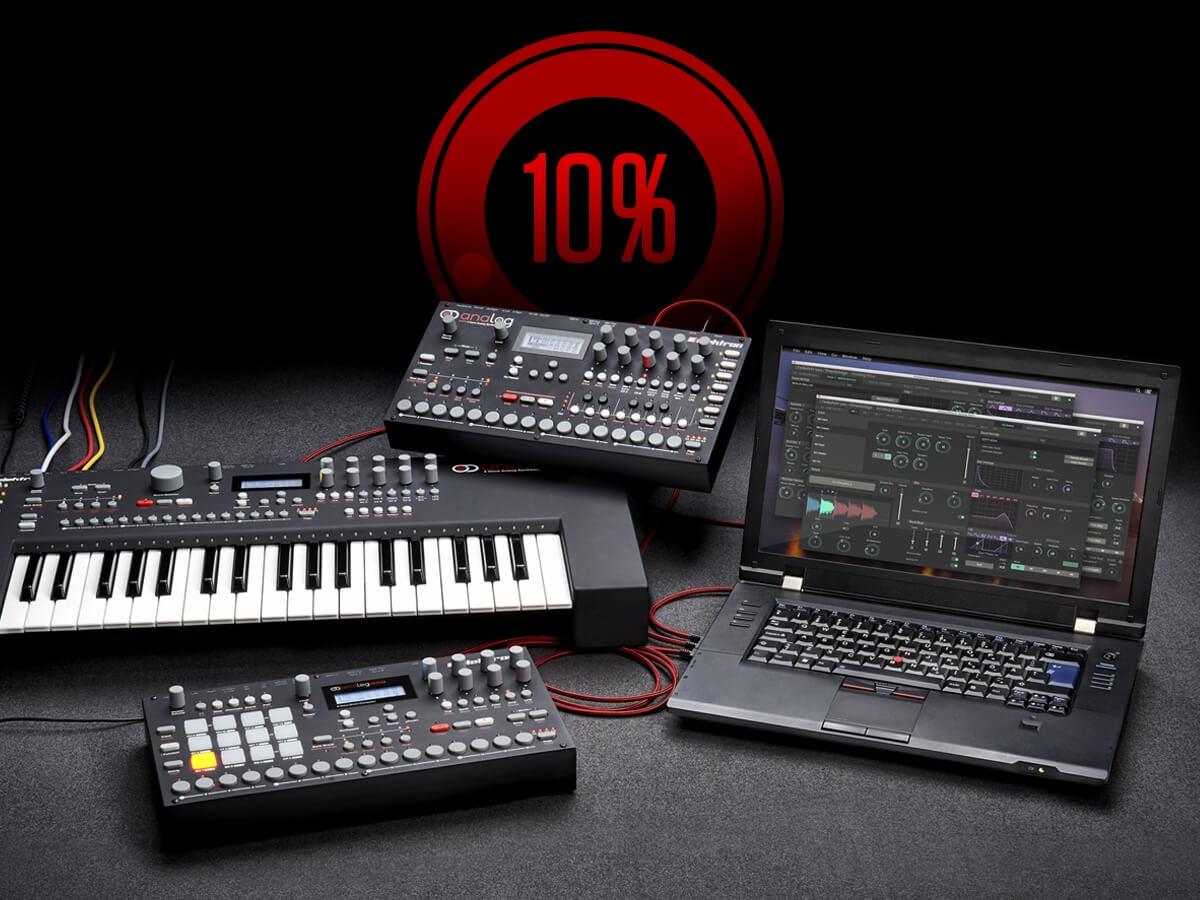 elektron analog instruments 10 off black friday sale. Black Bedroom Furniture Sets. Home Design Ideas
