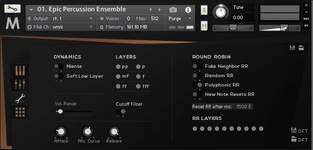 Orchestral Tools METROPOLIS ARK I_percussion_Single