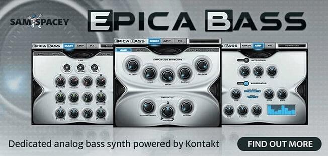 Sam Spacey Epica Bass