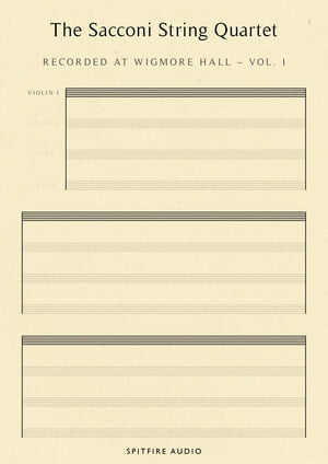 Spitfire Audio Sacconi String Quartet