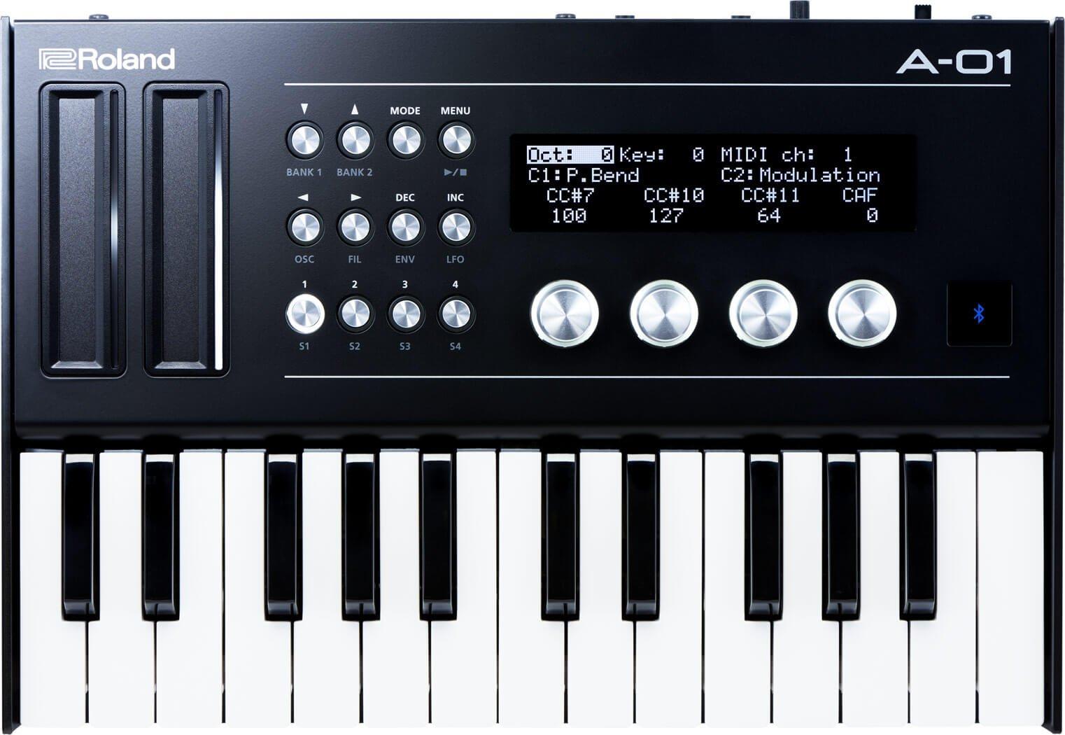 Roland A 01 Midi Controller Amp Sound Generator Introduced