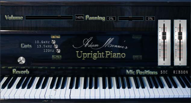 Adam Monroe's Upright Piano VST/AU & Kontakt released