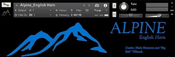 The Alpine Project free Kontakt instrument libraries