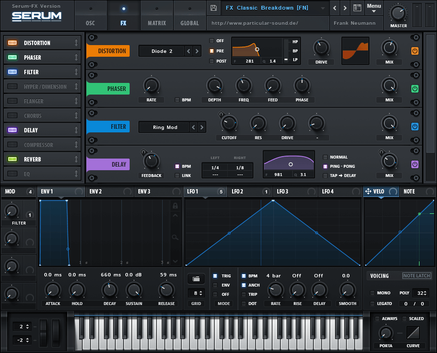 Xfer Records SerumFX plugin released