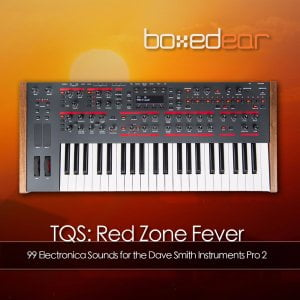 Boxed Ear TQS Red Zone Fever