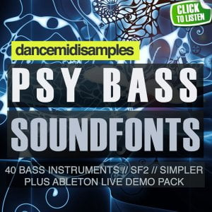 DMS Psytrance Bass SoundFonts