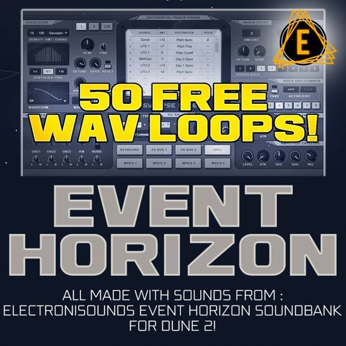 Electronisounds Event Horizon loop pack