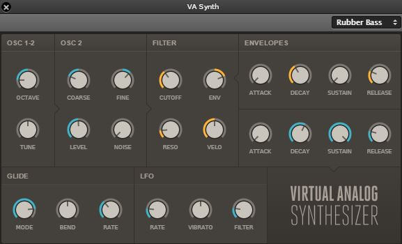 Soundation Studio Chrome VA Synth