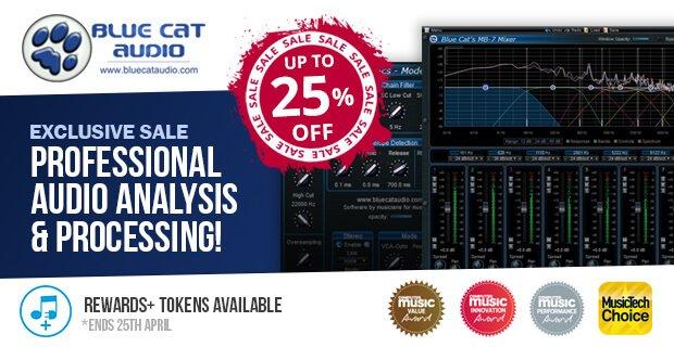 PIB Blue Cat Audio sale