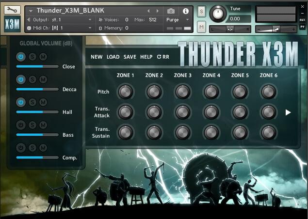 Strezov Sampling Thunder X3M Cinematic Percussion