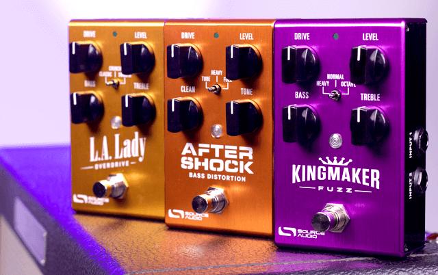 Source Audio LA Lady Overdrive Kingmaker Fuzz & Aftershock Bass Distortion