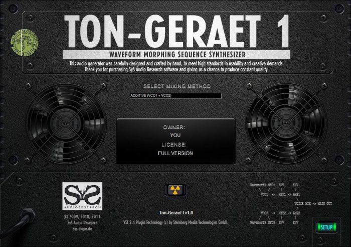 SyS Ton-Geraet 1 back
