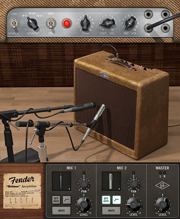 Universal Audio Fender '55 Tweed Deluxe