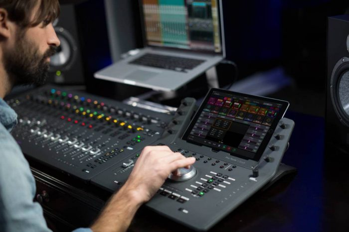 Avid Pro Tools | Dock control surface launched