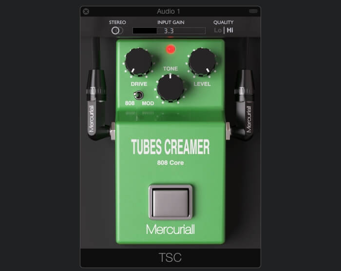 Tubes Creamer 808 Core free plugin by Mercuriall