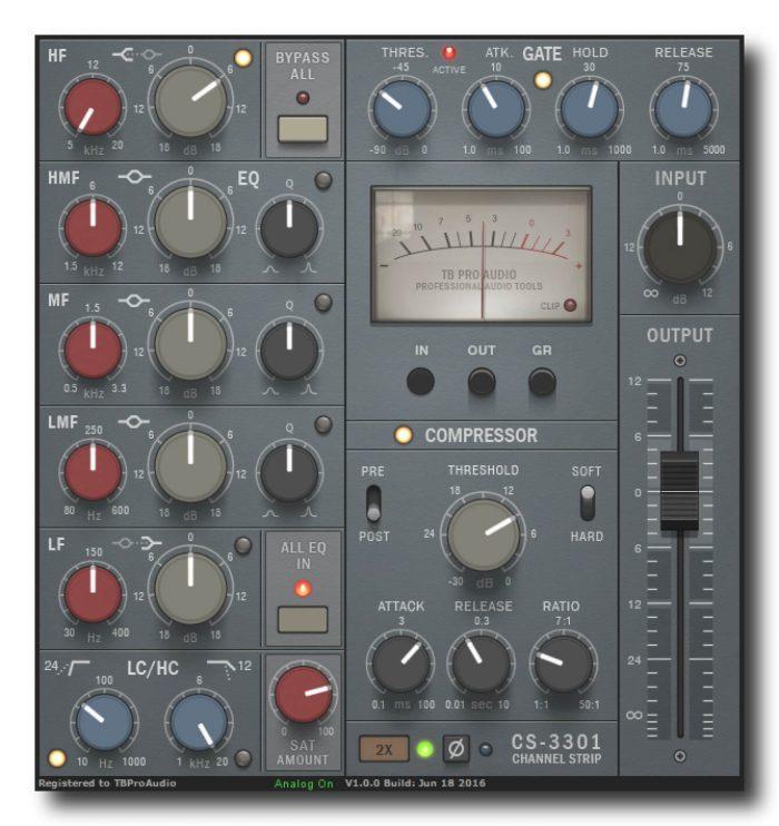 TBProAudio CS3301