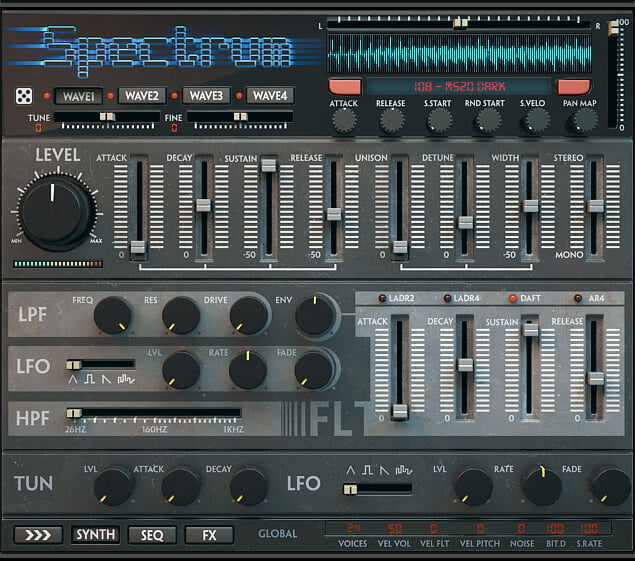 Wave Alchemy Spectrum synth