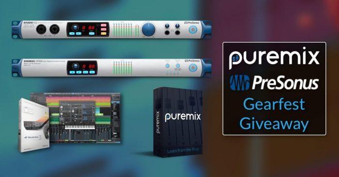 pureMix PreSonus GearFest Giveaway
