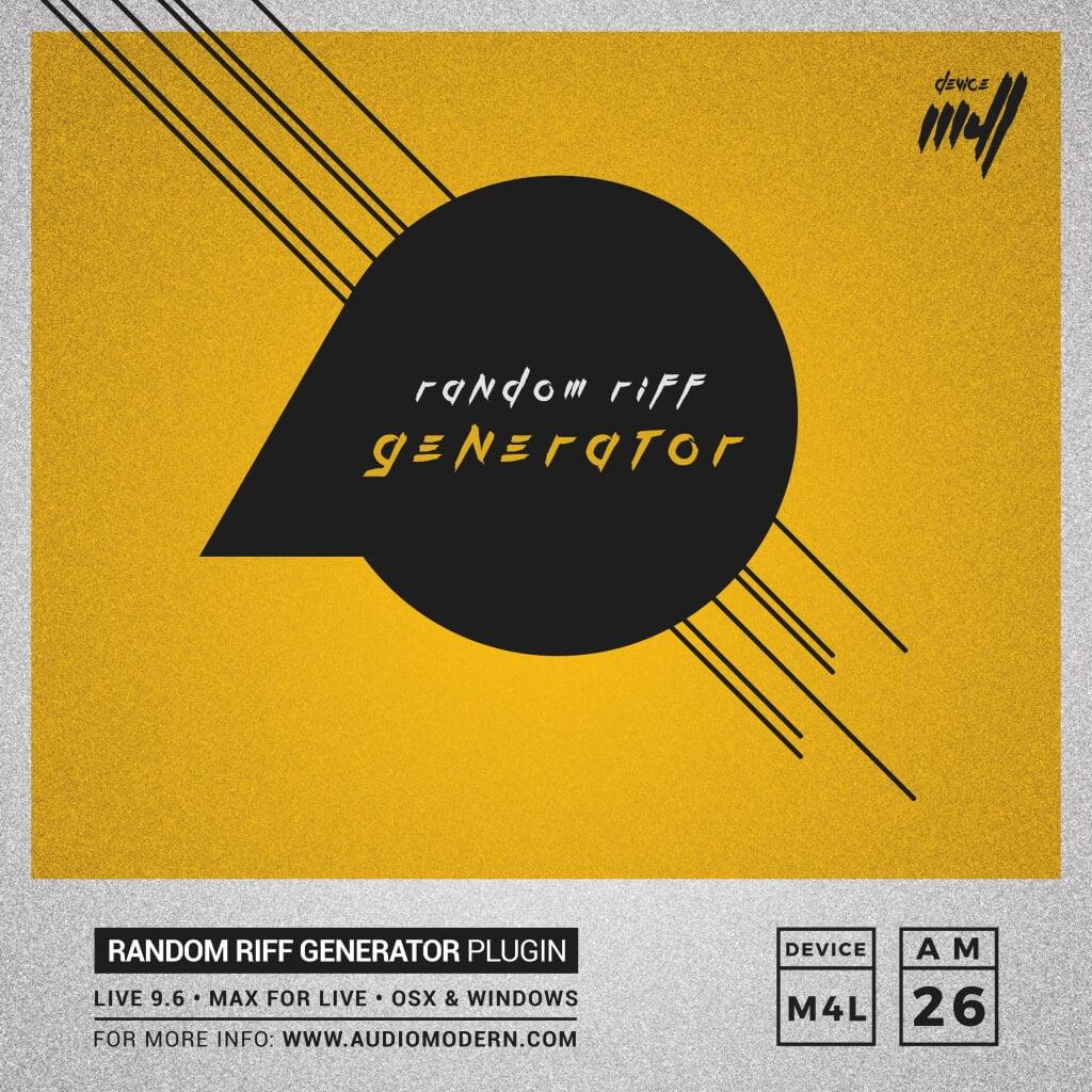 Random Riff Generator PRO by Audiomodern