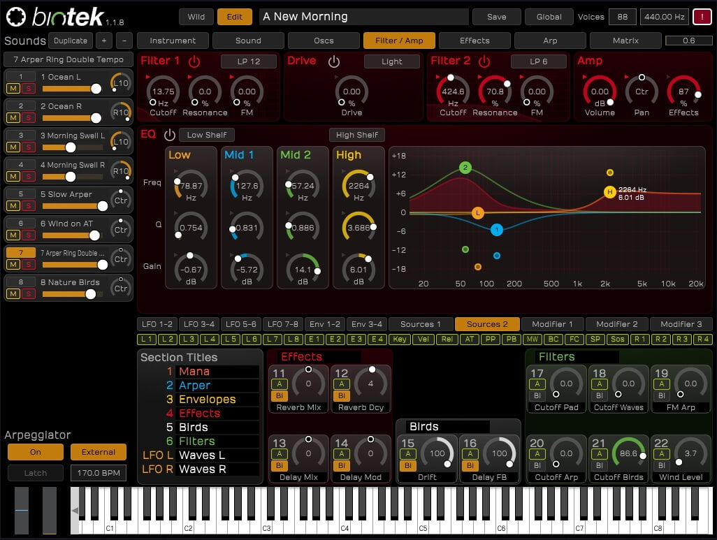BioTek Sound Designer edition of synth released by Tracktion