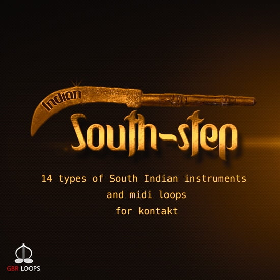 Indian South-step for Kontakt by GBR Loops released