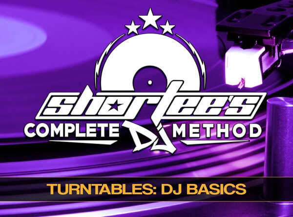 Groove3 Shortee's Complete Guide to DJ Basics with Turntables and a Mixer