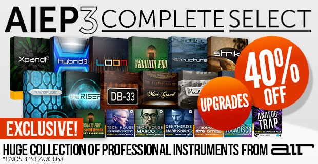 AIR Xpand!2 & Expansion 3 Upgrades sales at Plugin Boutique