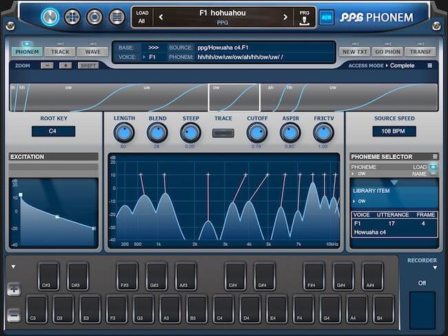 PPG Phonem for iPad 01