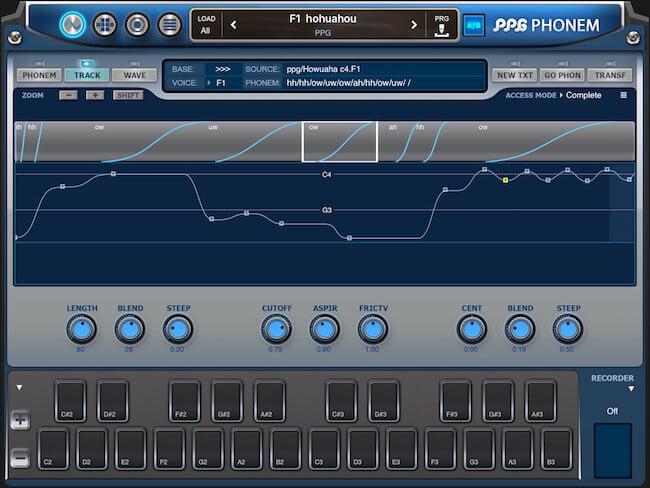 PPG Phonem for iPad 02