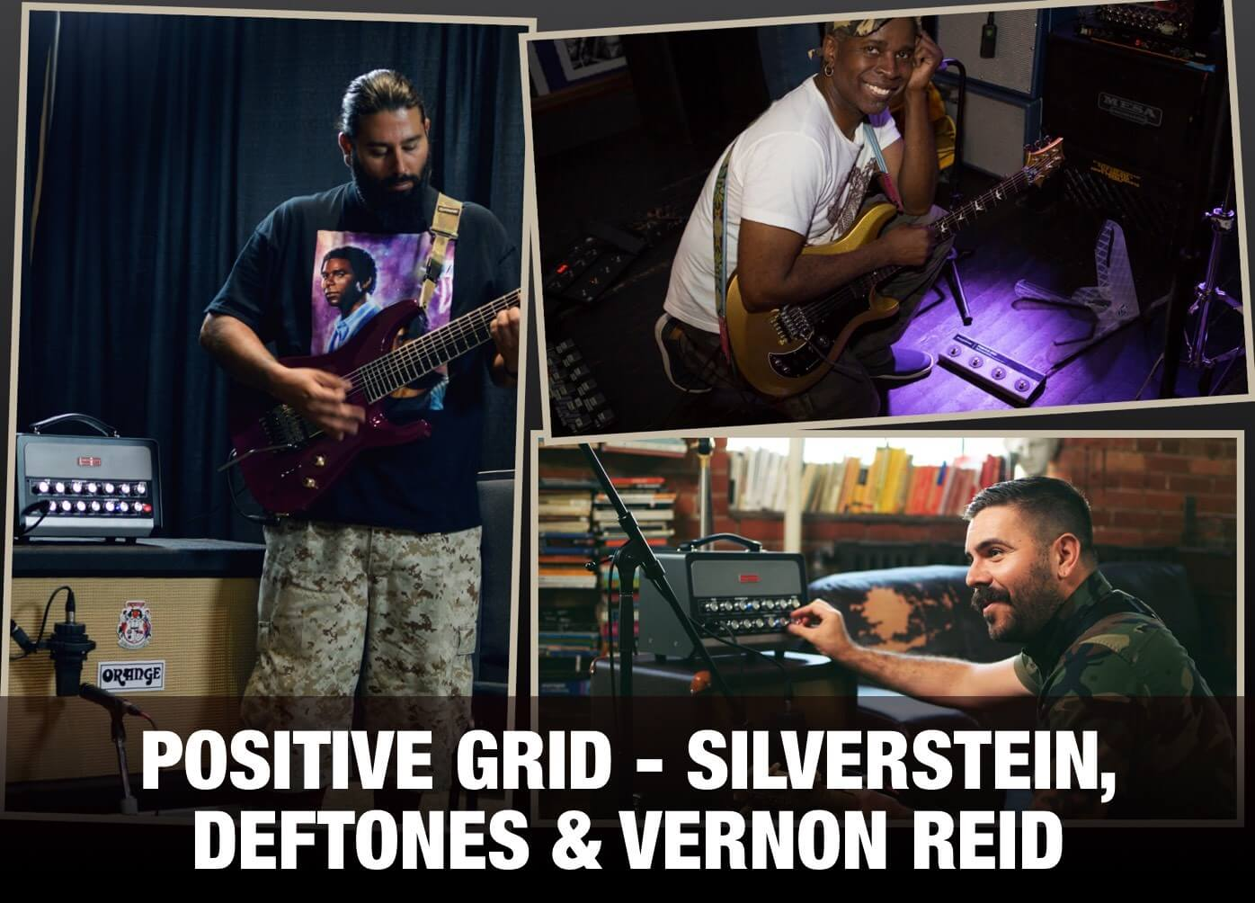 positive grid artist content silverstein deftones vernon reid. Black Bedroom Furniture Sets. Home Design Ideas
