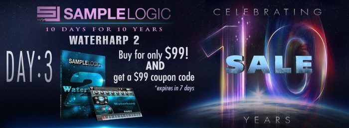 Sample Logic Waterharp 2 sale