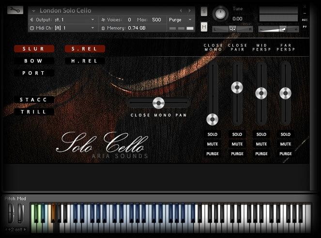 Aria Sounds LLS Solo Strings Cello