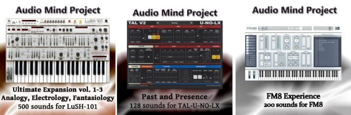 AudioMindProject packs