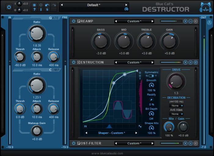 Blue Cat's Destructor