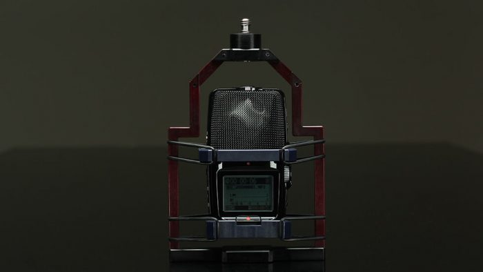 Brahma in Zoom VR Shock Mount Small