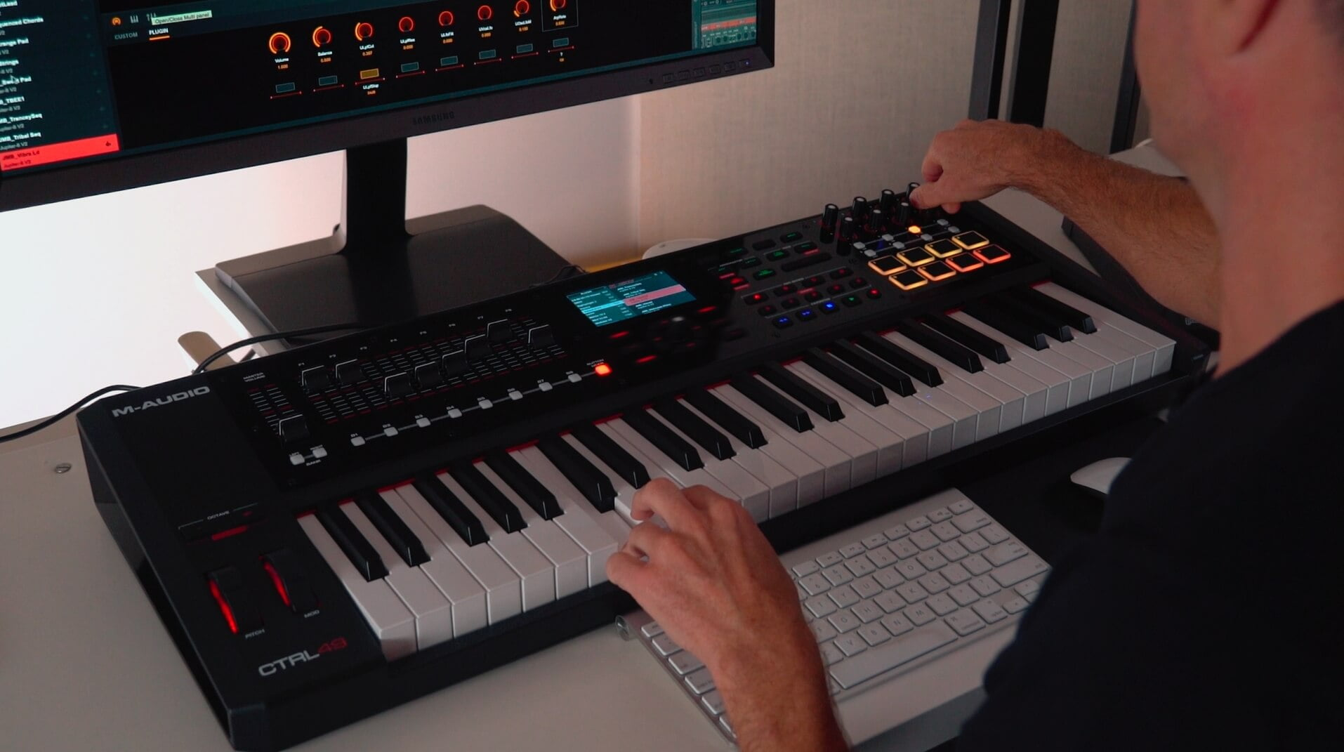 M-Audio CTRL49 USB/MIDI controller now available