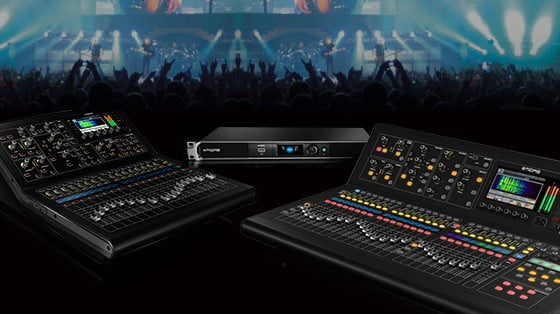 MIDAS M Series firmware & application software update available