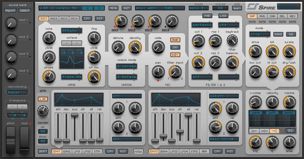 Free presets and sound banks for Reveal Sound Spire