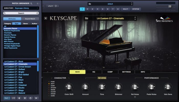 Spectrasonics Keyscape Omnisphere integration