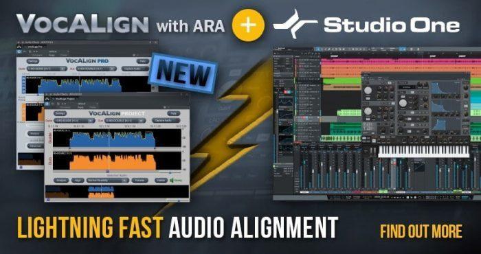 Synchro Arts VocAlign with ARA & Studio One