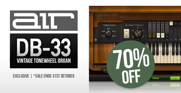 AIR DB 33 tonewheel organ sale