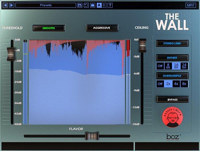 Boz Digital Labs The Wall blue