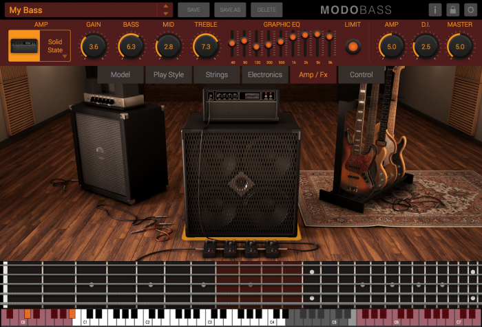 IK Multimedia Modo Bass amps