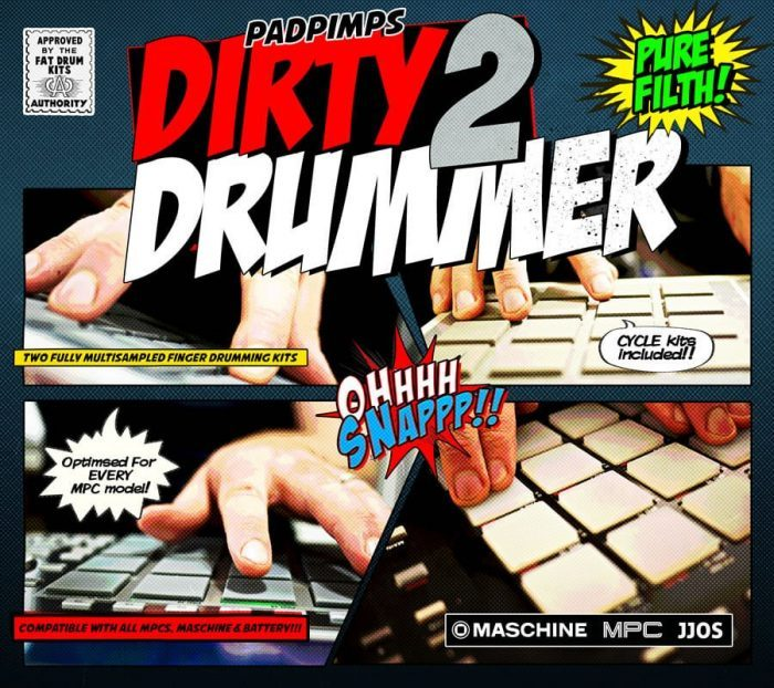 MPC Samples The Dirty Drummer 2